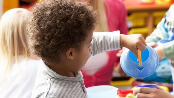 Children in nursery...Children in nursery