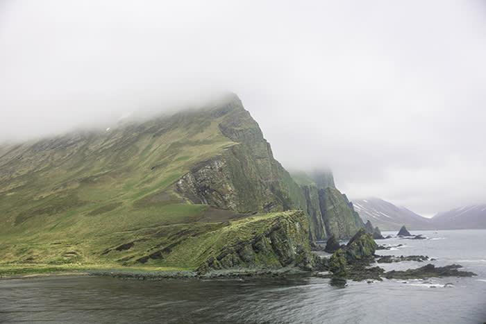 Medny Island, off Russia's east coast