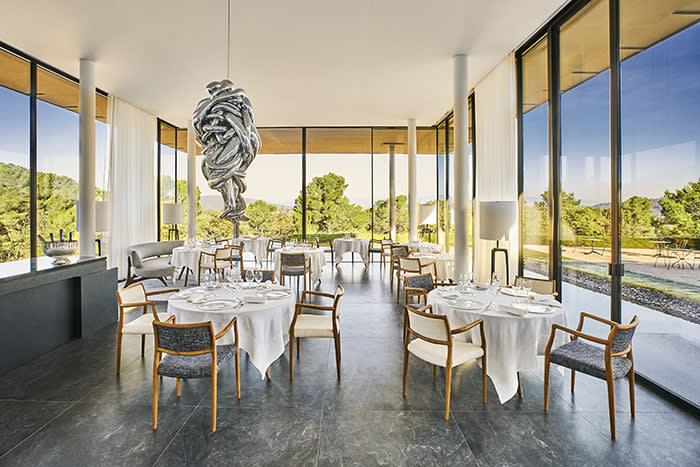 The Louison restaurant at Villa La Coste, near Aix-en-Provence