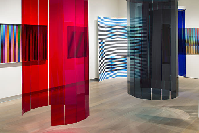 Carlos Cruz-Diez's 'Chroma' (2017), part of Special Projects at Untitled