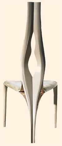 'Enignum I' chair by Joseph Walsh