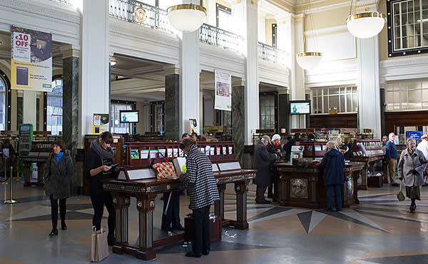 Inside the General Post Office, where the Rising began