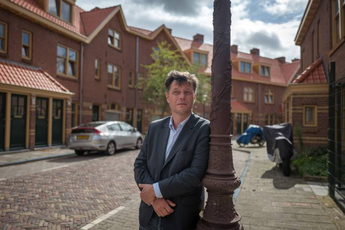 Alphons Muurlink, Labour councillor in North Amsterdam: 'It's a totally different political landscape' he says – people were not voting for economic reasons, but 'to be heard'