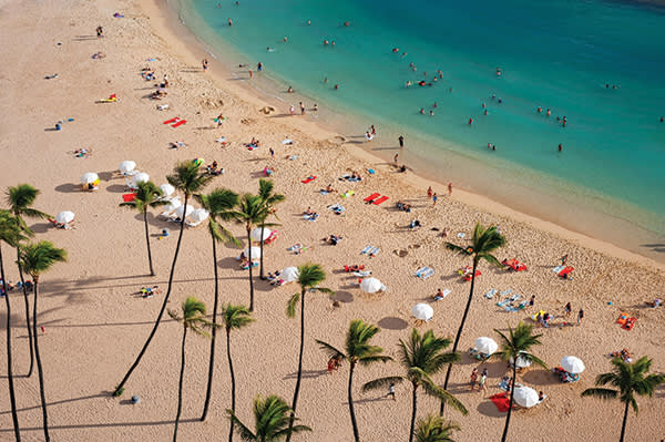 The all-American glamour and Pacific warmth of waikiki