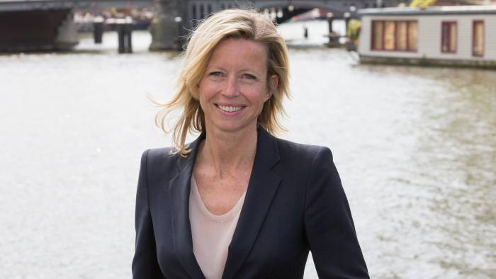 Kajsa Ollongren of D66, now deputy mayor of Amsterdam: 'It's very important to keep in touch [with voters] – especially the young ones'