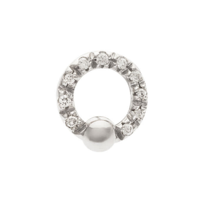 Two-in-One pearl and diamond ring, £791, delfinadelettrez.com