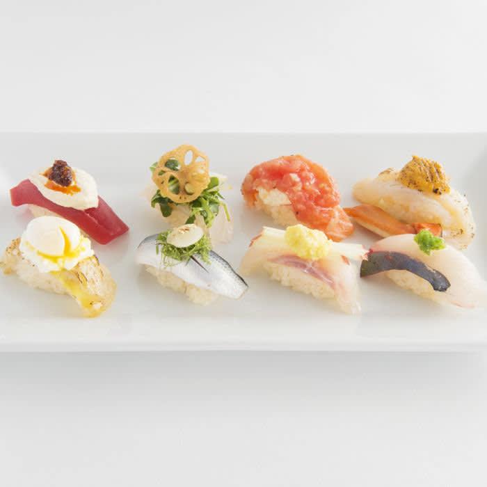 Sushi selection at Sushi Gari, NYC