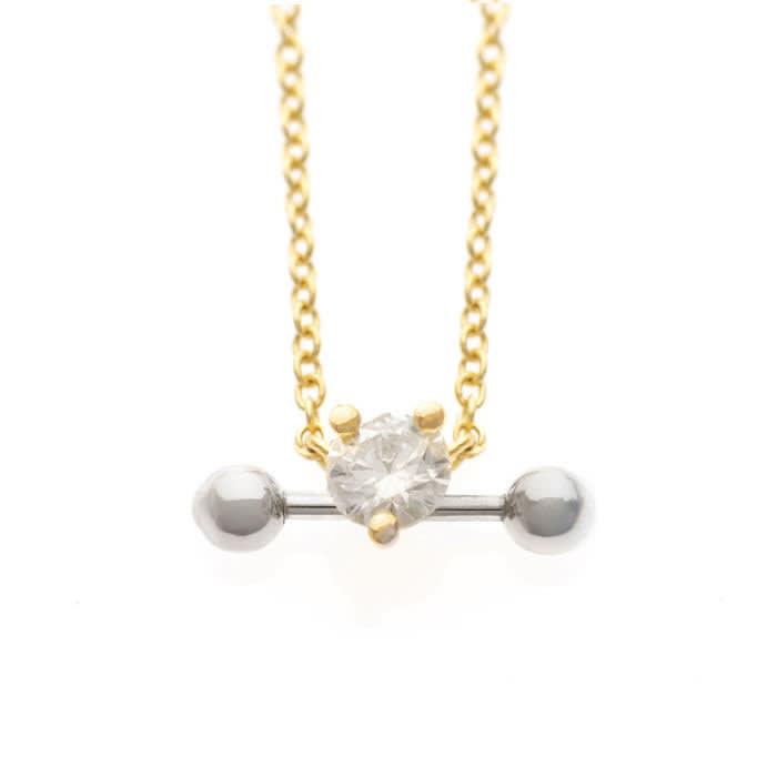 Two-in-One necklace, £915, delfinadelettrez.com