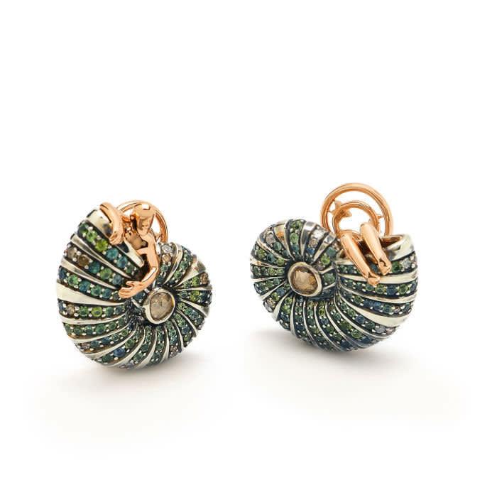 Bibi van der Velden's 'Poseidon's Getaway' earrings, £7,060, bibivandervelden.com
