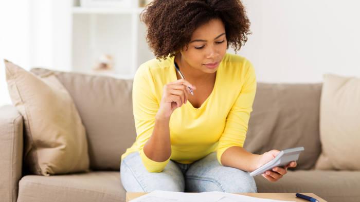 woman girl personal finance budget