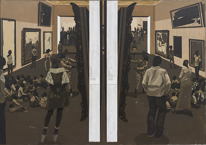 Kerry James Marshall's 'Untitled (Underpainting)' (2018)