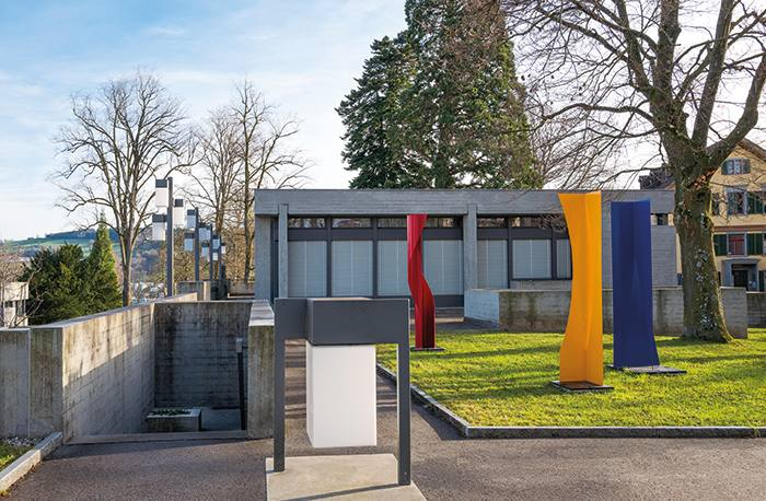HW0RPF St.Gallen, Switzerland -  December 12, 2015: The new university of the city
