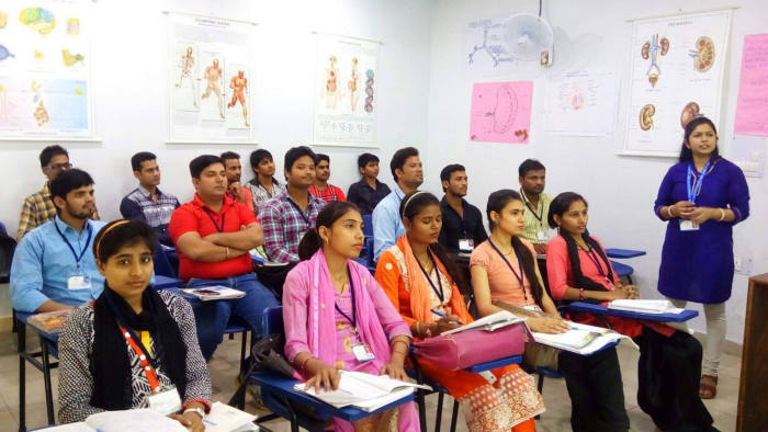 Vivo Healthcare - medical training: how one institute is trying to tackle the shortage of medics in India.