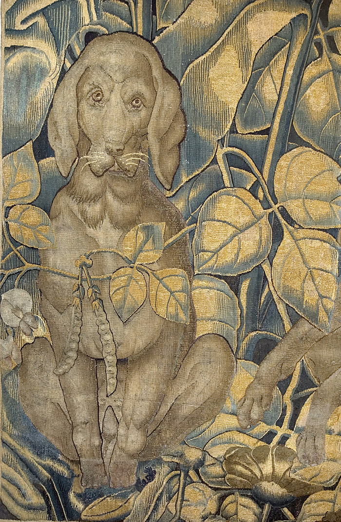 Leeds Castle Giant Leaf Tapestry Giant Leaf Tapestries of The Renaissance 1500 – 1600 FRANSES Gallery Inaugural Exhibition