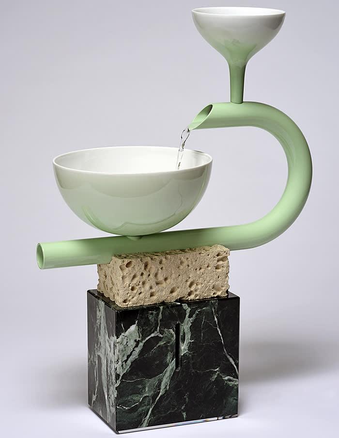 Arthur Hoffner's 'Fontaine de table' (2018). Courtesy of Sèvres