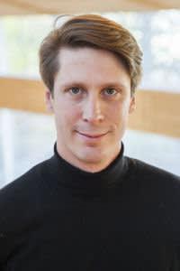 Carl Cederström, associate professor at Stockholm University, and co-author of Desperately Seeking Self-Improvement. Please credit.