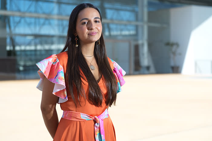 Options open: Mafalda Rebordão sees the value in spending time out of the classroom