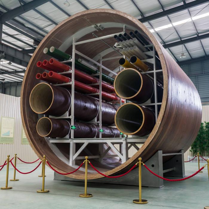 Chinese Bamboo tubes