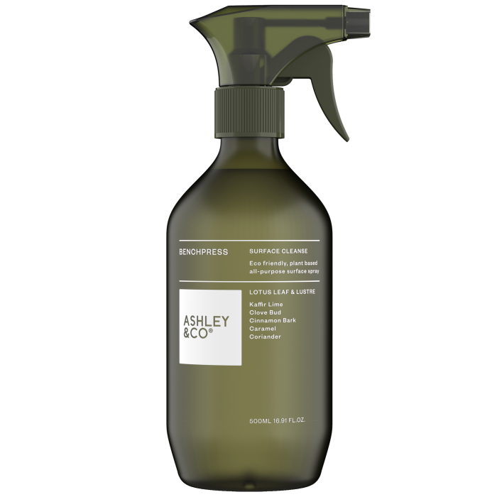 Ashley & Co Lotus Leaf & Lustre surface cleaner, £16, shop-uk.ashleyandco.co