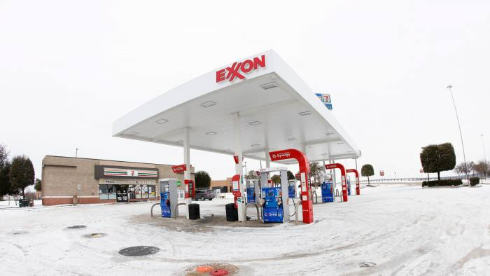 Most gas stations in Forth Worth, Texas, were completely out of fuel after last week's snow storm