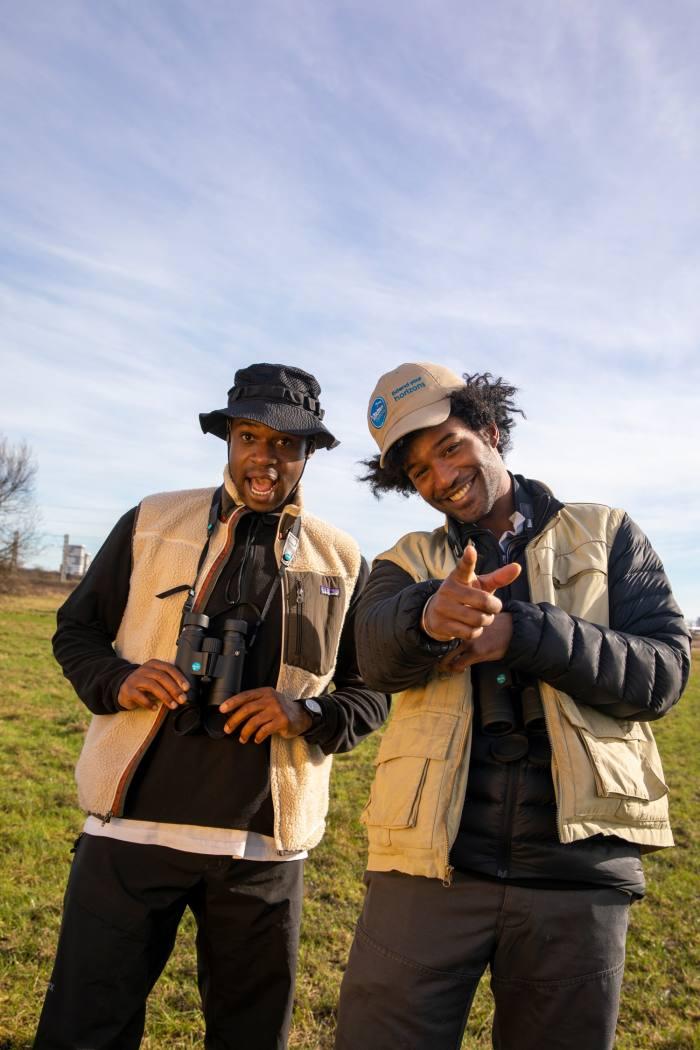 Flock Together founders Ollie Olanipekun (left) and Nadeem Perera