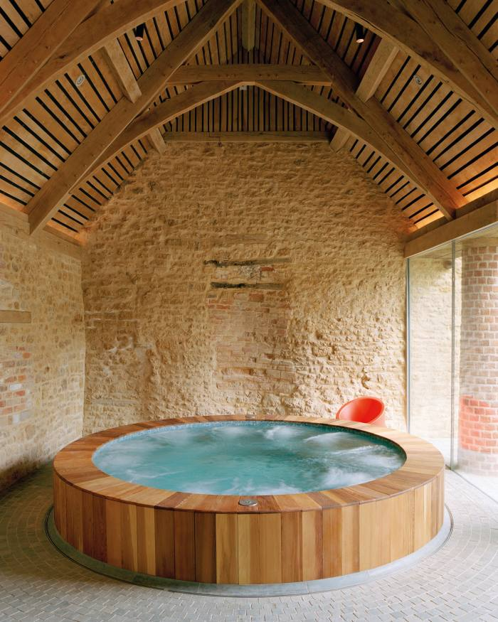 The cedarwood vitality pool