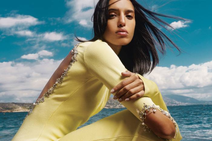 Athina Koini wears Givenchy