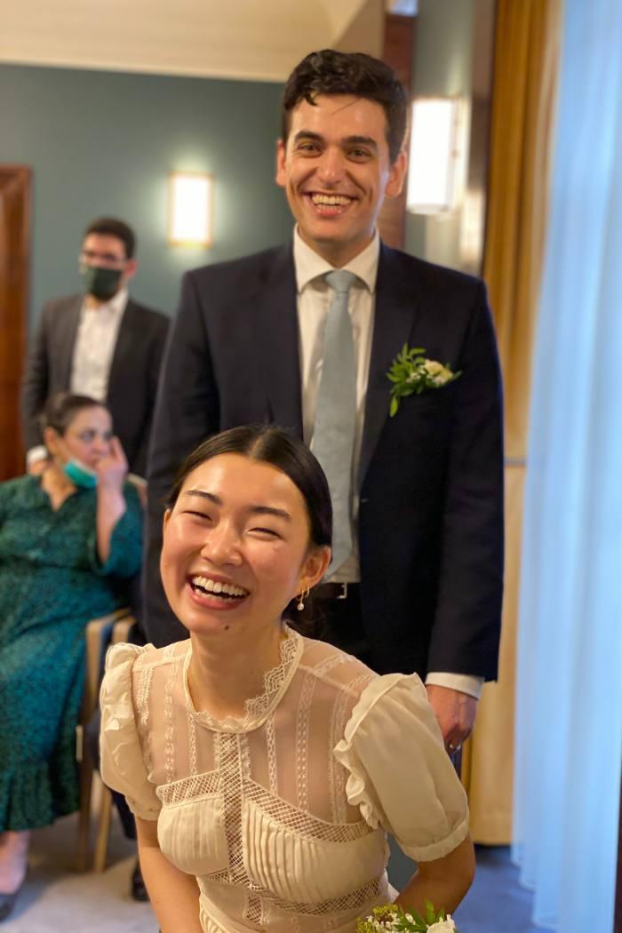 Wedding of Kana Yosumi and Yassir Al-Refaie
