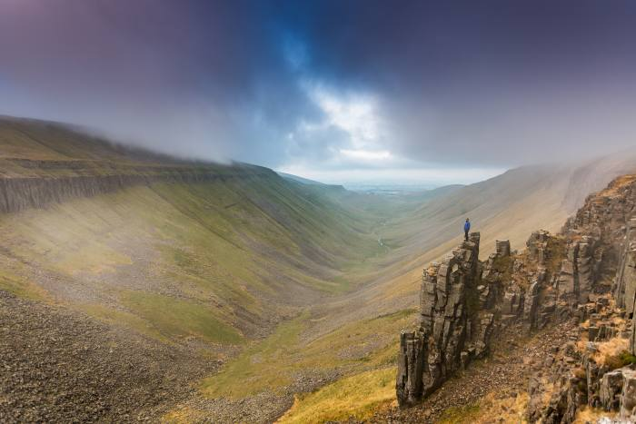 High Cup Valley on the Pennine Way National Trail