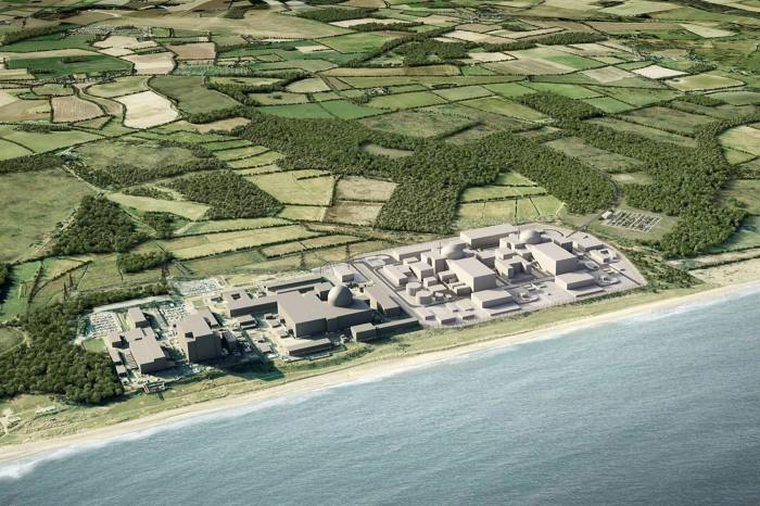 Financing for the proposed £20bn nuclear power station in Sizewell is yet to be confirmed