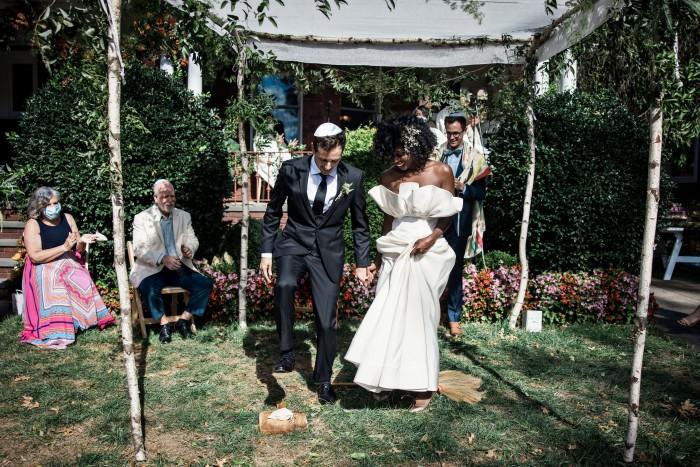 Wedding of Janine Nabers and Etan Marciano
