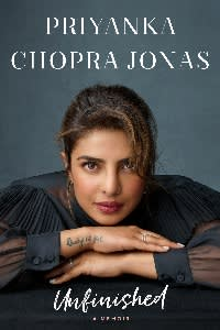 Unfinished by Priyanka Chopra Jonas is published by Michael Joseph at £20