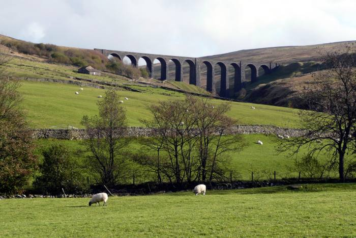 Stretching from Yorkshire into Cumbria, the Dales Way takes in Arten Gill viaduct