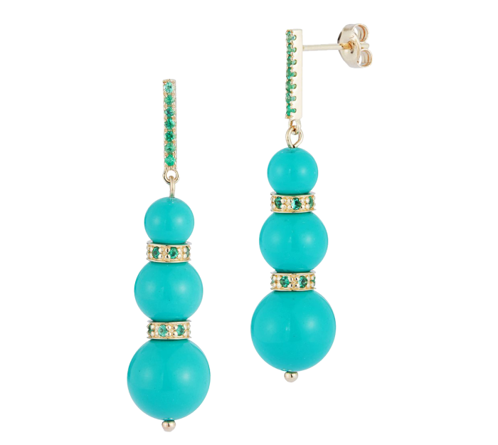 Earrings by Mateo New York