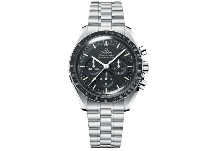 Omega Speedmaster Moonwatch Co-Axial Master Chronometer in stainless steel, £5,370