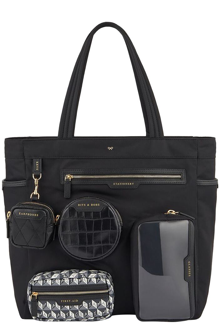 Anya Hindmarch recycled-nylon working from home tote, £625
