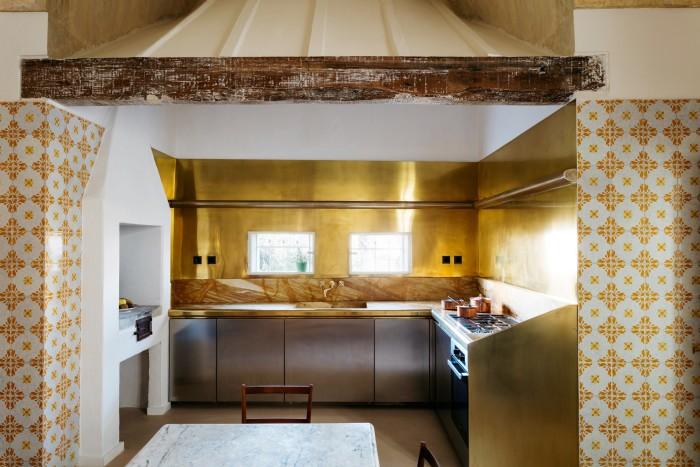 A kitchen space