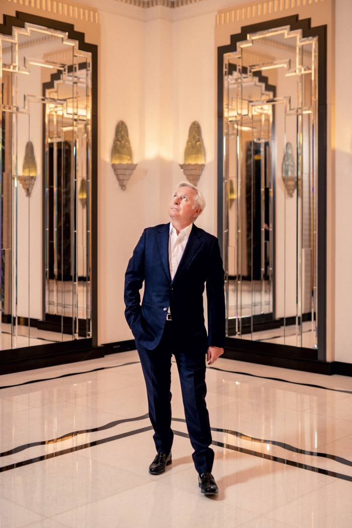 Paddy McKillen has brought about the biggest refurbishment in the hotel's history while retaining its art deco grandeur
