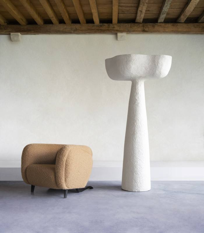 Pierre Augustin Rose Eole floor lamp, POA, theinvisiblecollection.com