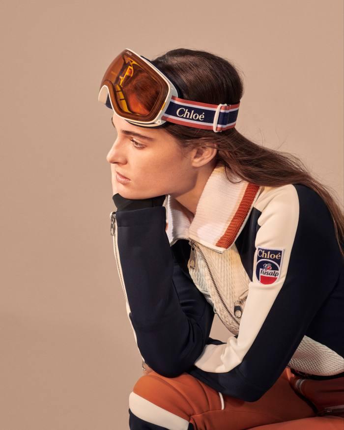 Chloe x Fusalp ski suit, £1,795, fusalp.com