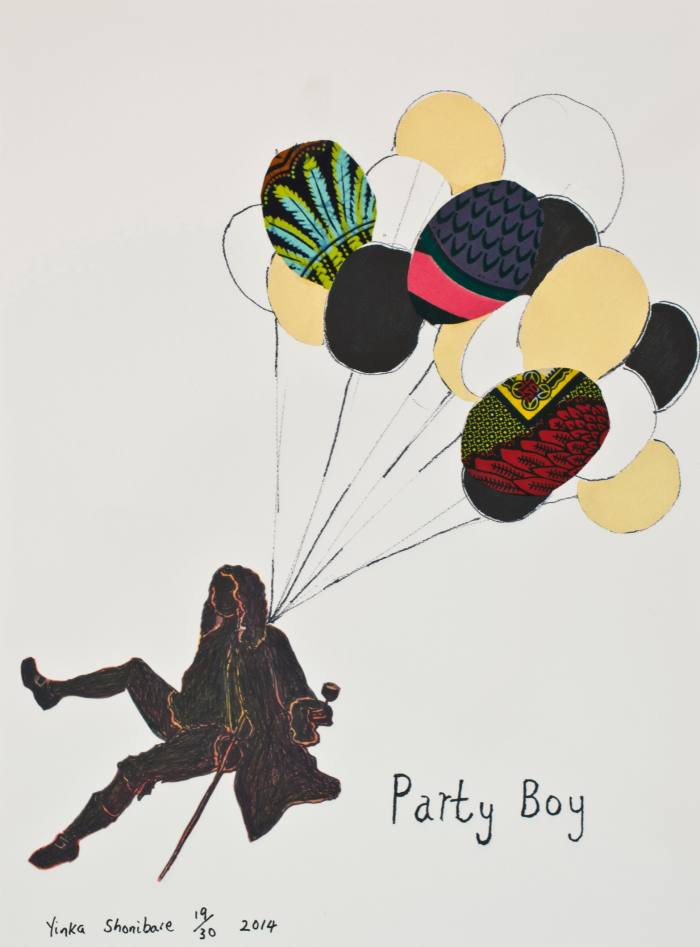 Party Boy by Yinka Shonibare, edition of 30, £1,250, artuk.org; 85 per cent of proceeds to the Foundling Museum