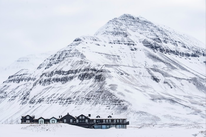 Deplar Farm, Eleven's ski lodge on the Troll Peninsula in Iceland