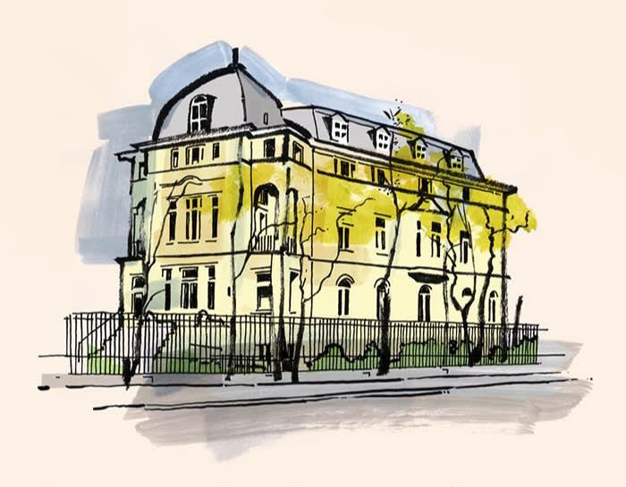Illustration of Prinzregentenstrasse 61