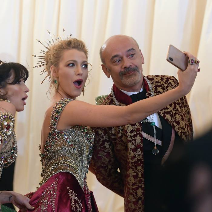 A selfie with Blake Lively at the 2018 Met Gala, New York