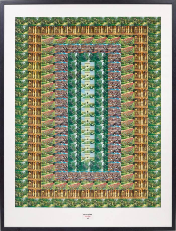 Faith Window, 1989, by Gilbert & George, MixedMedia