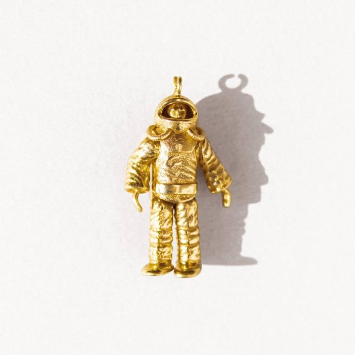 Ilaria Icardi gold Spaceman pendant, £2,100