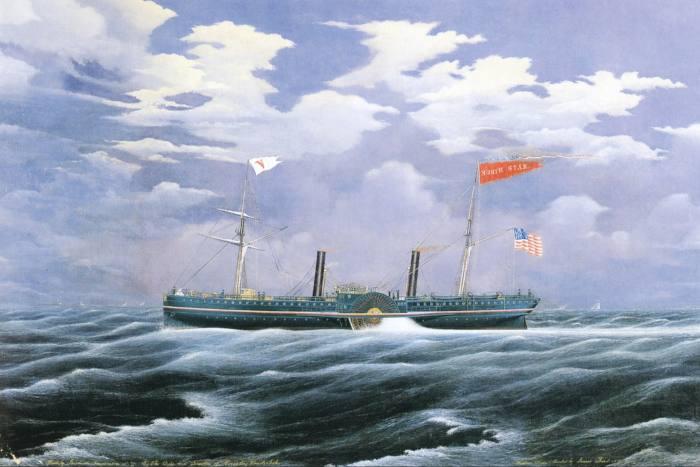 Cornelius Vanderbilt's yacht North Star