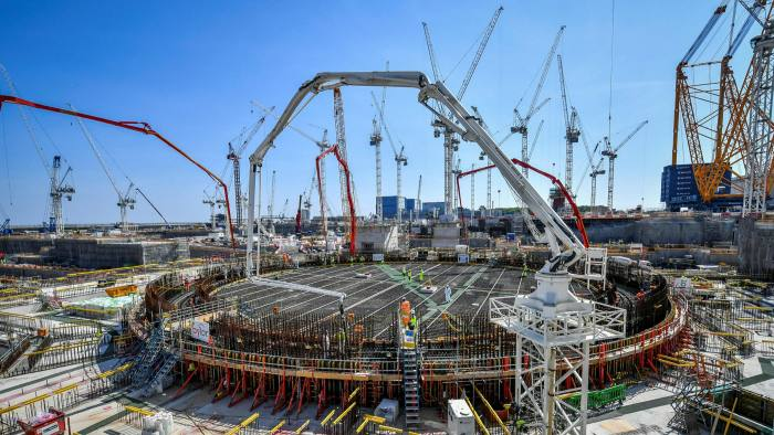 Somerset's Hinkley Point C plant is the UK's only new nuclear power plant under construction