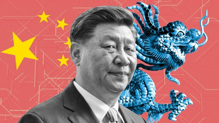China's Xi Jinping. The country is flexing its muscles in commercial diplomacy