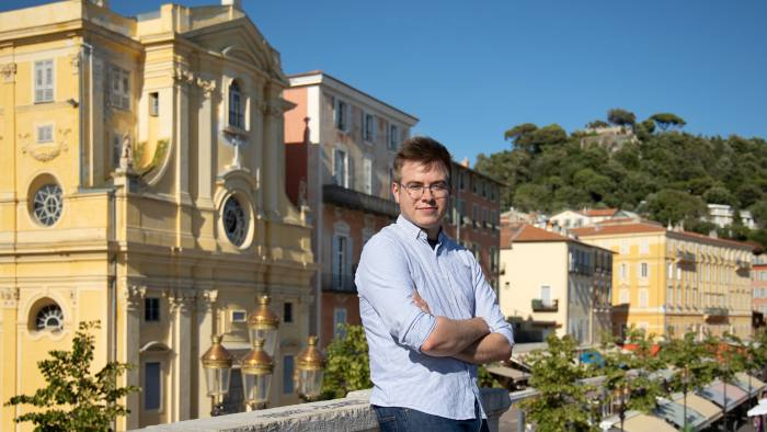 Grégoire Gloriod chose Neoma business school partly for its expertise in online learning